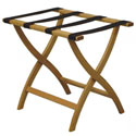 Click here for more Curved Leg Folding Luggage Rack by Wooden Mallet by Worthington