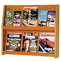 Click here for more Oak Literature Displays by Wooden Mallet by Worthington
