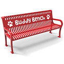 Lexington Buddy Bench by UltraPlay