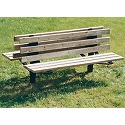 Click here for more Double-Sided Park Bench with Back by UltraPlay by Worthington