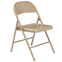 Metal Folding Chair by NPS Commercialine