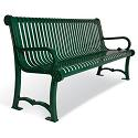 Charleston Outdoor Benches by UltraPlay