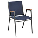 Click here for more 400 Series Stack Chair with Arms by KFI by Worthington