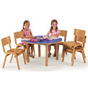 Click here for more Wooden Tables by KFI by Worthington