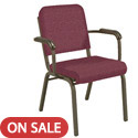 Roll Front Chair With Arms FR1021 Series by KFI Seating