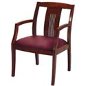 Click here for more 4900 Series Slat Back Guest Chair by KFI by Worthington