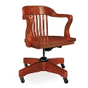 Click here for more Boston Solid Oak Swivel Chair by Community by Worthington