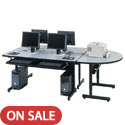 Click here for more Space Saving Computer Tables by Paragon by Worthington