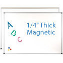 ABC Magnetic Porcelain Steel Dry Erase Boards by Best-Rite