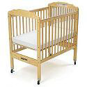 Click here for more Adjustable Fixed-Side Cribs by Angeles by Worthington
