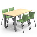Click here for more Adjustable Planner Studio Tables by Smith System by Worthington