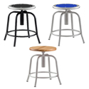 Adjustable Swivel Stool by National Public Seating