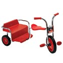 Click here for more SilverRider® Rickshaw Trike by Angeles by Worthington