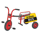 Click here for more ClassicRider® Tandem Trike School Bus by Angeles by Worthington