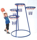 4-Ring Basketball Stand with Storage Bag by Angeles