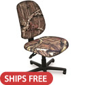 Allegra Camo Operational Chair by Marvel