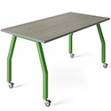 Click here for more Innovation Maker Table with Laminate Top by Allied Plastics by Worthington