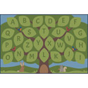 Alphabet Seating Tree Carpet by Learning Carpets