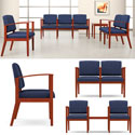 Click here for more Amherst Open Arm Series Reception Seating by Lesro by Worthington