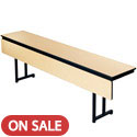 "Click here for more 3/4"" Training Table w/ Cantilever Leg & Modesty Panel by Amtab by Worthington"
