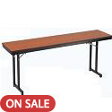 "Click here for more 3/4"" Training Table w/ Cantilever Legs by Amtab by Worthington"