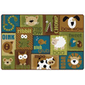 Animal Sounds Carpet - Nature's Colors by Carpets for Kids