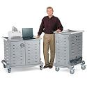 Click here for more Standard Laptop Charging Carts by Anthro by Worthington
