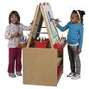 Art Easel w/ Storage by ECR4Kids