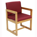 Belcino Sled Base Chair w/ Arms by Regency