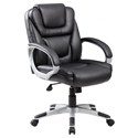 Click here for more NTR Executive Mid Back LeatherPlus Chair by Boss by Worthington