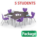 Click here for more Fender Collaborative Desk & Hierarchy Chair Packages by Mooreco by Worthington
