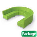 Click here for more Lounge M Modular Soft Seating Package by Mooreco by Worthington