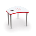 Shapes Desk with Dry Erase Top by Balt