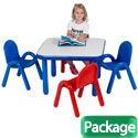 Baseline® Table & Chair Sets by Angeles