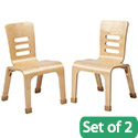 Click here for more Bentwood Chair Sets by ECR4Kids by Worthington