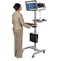 Beta Sit-Stand Workstation by Balt