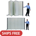 "6'-5"" H Simplex Freestanding Partitions by Screenflex"