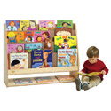 Click here for more Value Line Birch 4-Shelf Book Display with Storage by Angeles by Worthington