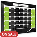Click here for more Black Glass Dry Erase Monthly Calendar & Weekly Planner by Best-Rite by Worthington
