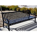 Click here for more Blair Outdoor Benches by Jayhawk Plastics by Worthington