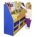 Click here for more Colorful Essentials Book Display w/ Storage by ECR4Kids by Worthington