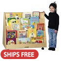 Birch Book Display by ECR4Kids