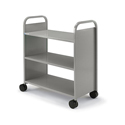 Click here for more Booktruck with Three Flat Shelves by Smith System by Worthington