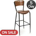 Click here for more BR3818A Series Cafe Stool by KFI by Worthington