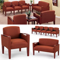 Brewster Series Reception Seating by Lesro