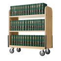 Click here for more Heavy Duty Book Truck by Diversified Woodcrafts by Worthington
