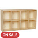Click here for more Contender Series 8 Cubby Knapsack Storage Unit by Wood Designs by Worthington
