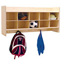 Contender Wall Locker & Storage by Wood Designs