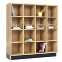 Wood Storage Cubbies by Diversified