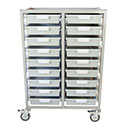 Click here for more Antimicrobial Swift Tower Carts by Certwood by Worthington
